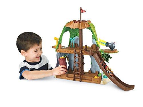 Jake y los Piratas - Set de Juego, Guarida mágica de Jake (Mattel Y4605)