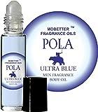 Pola Ultra Blue Cologne Body Oil for Men (10ml Roll On) by MoBetter Fragrance Oils