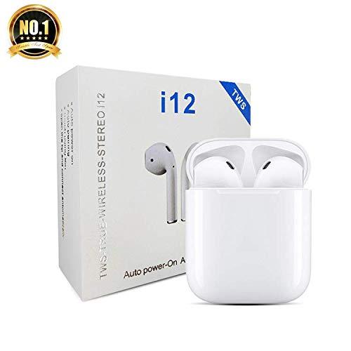 I12 TWS - Auriculares inalámbricos con Bluetooth 5.0 (Caja de Cargado