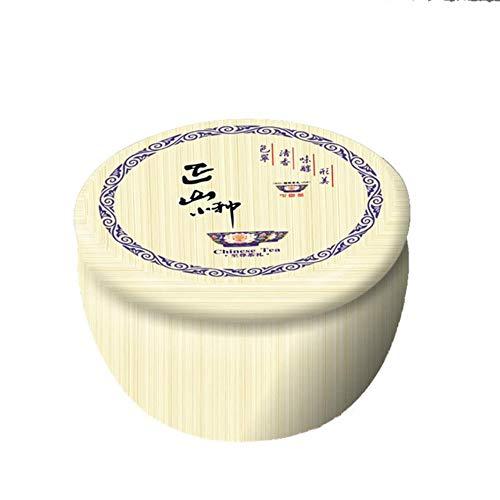Aomerrt Box van ijzer, grote capaciteit, theedoos van ijzer, reisdoos, modieus, kleurrijk, een kleine doos van tin