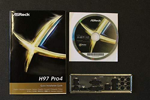 ASRock H97 Pro4 Handbuch - Blende - Treiber CD