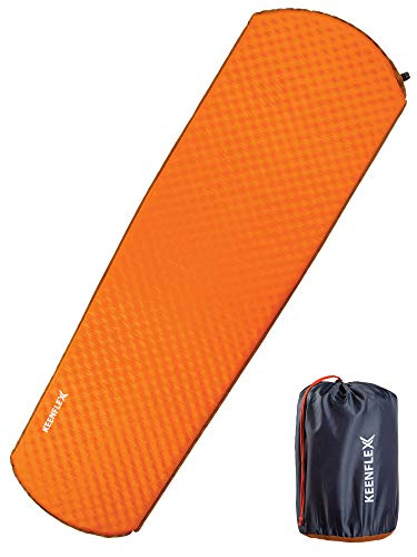 KeenFlex Camping Mat Self Inflating (Orange)