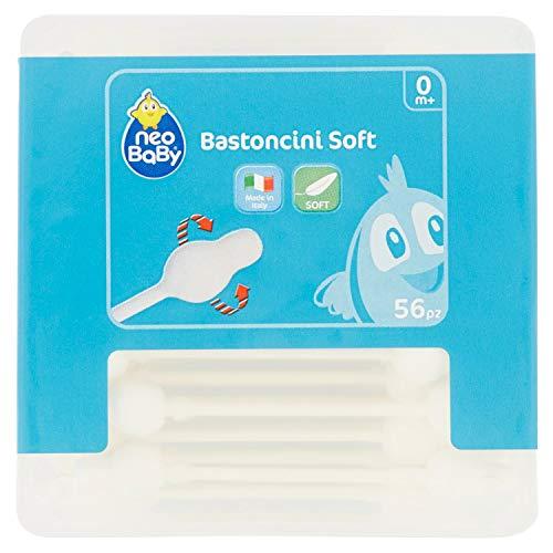 Neo Baby Bastoncini Soft - 56 Bastoncini Cotonati - 5 g