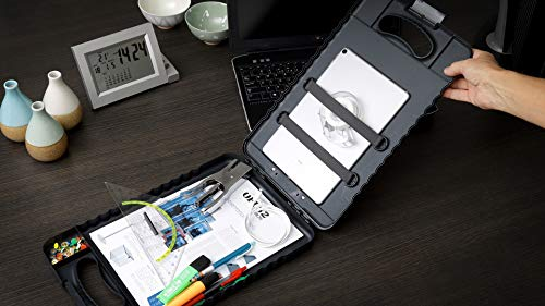 Officemate OIC Letter/A4 Size Tablet Clipboard Case, Charcoal (83314) Photo #7
