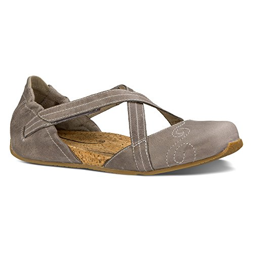 Ahnu Women's Karma Latitude Leather, Mesa Taupe, 10 B