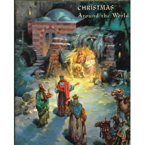 Hardcover Christmas Around the World (An Ideals Publication) Book