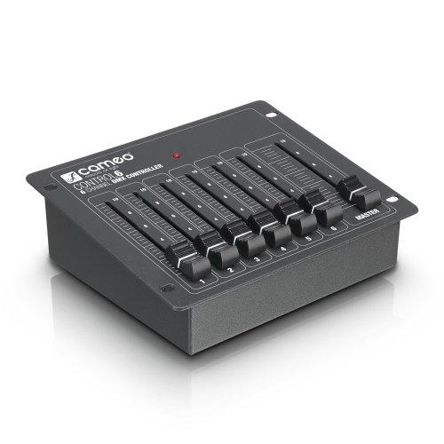 Cameo Control 6 DMX-Controller mit 6 Kanälen schwarz