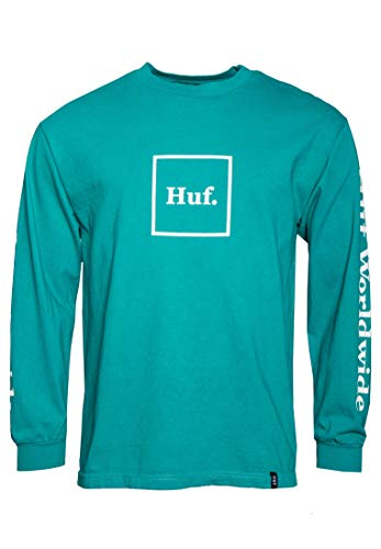 HUF Domestic Longsleeve - Deep Jungle - M