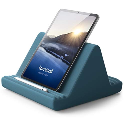 Pillow Tablet Holder, Lamicall Tablet Cushion Stand - Lazy Holder Stand for...