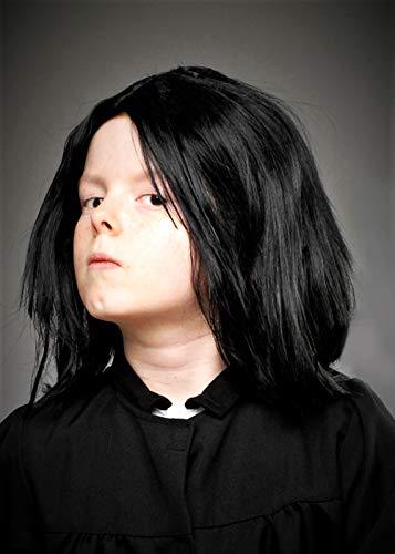 Magic Box Professor Snape Perücke in Kindergröße in Schwarz