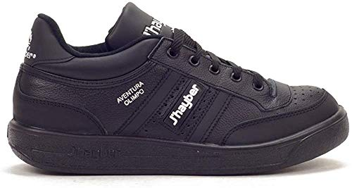 J'hayber 65638, Sneaker Unisex Adulto, Negro Blanco, 41 EU