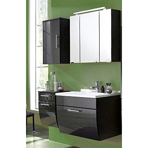 Lomadox - Mueble de baño con Lavabo (70 cm), Color Gris