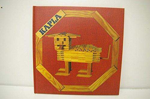 KAPLA(カプラ)・デザインブック 第1巻 動物と建物(赤)中級