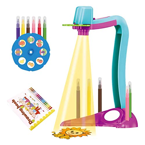 LOVOICE Trace and Draw - Proyector de juguete para niños para dibujar Smart mesa de proyección para niños