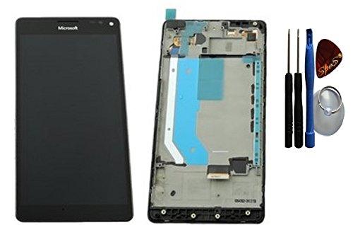SPES Original LCD Display für Microsoft/Nokia Lumia XL 950/950 DS Dual SIM Touchscreen Touch Glas Bildschirm Rahmen Schwarz PN: 00814K8