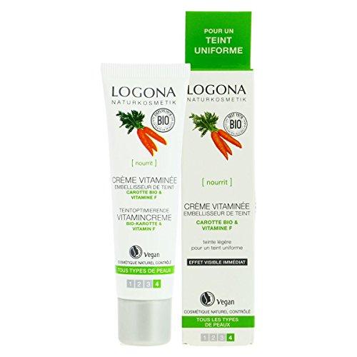 Logona - Crème vitaminée à la carotte 30Ml Bio - Livraison Gratuite pour les commandes en France - Prix Par Unité