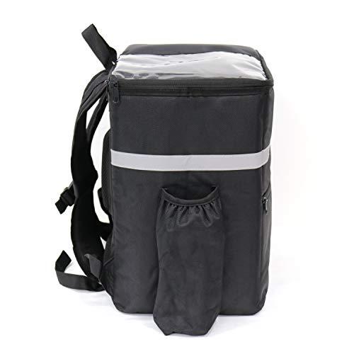 TheBiker Food Delivery Sac à dos isotherme réutilisable, sac de livraison, nourriture chaude et froide.