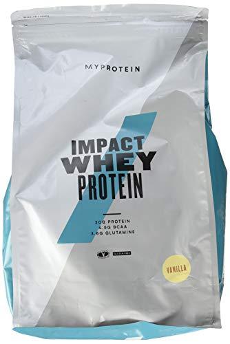 Myprotein Impact Whey Protein Vanilla, 1er Pack (1 x 5000 g)
