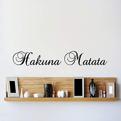 G Direct Hakuna Matata 60cm Lion King Bambini la Pared del Vinilo Mural for Kids bedcamera Art