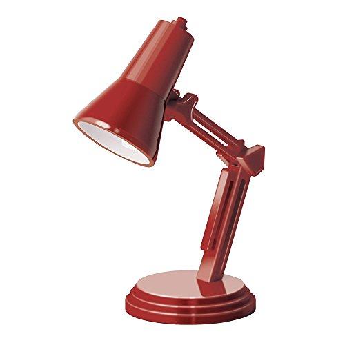 The Book Lamp Retro Red