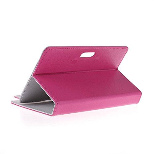 BRALEXX Universaltasche für Tablet PC passend für ARCHOS 70 Helium, Pink 7 Zoll