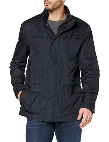 Geox Herren Jacke Man Jacket Herrenjacke, Blau (Blue Nights F4386), 52