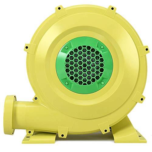 COSTWAY Ventilatore di Aria del Castello Ventilatore Centrifugo Gonfiabile Soffiatore per Giochi Gonfiabile Castello Gonfiabile, 680W