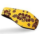 Qshare Diadema de natación - el Mejor diseño de Orejeras para Proteger Las Orejas del Nadador, 2 tamaños para niños pequeños y Adultos (L: 10 años, Amarillo)