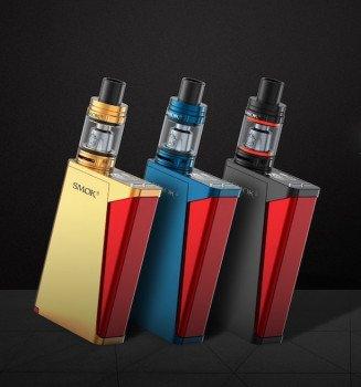 Smok H-Priv 220W Pro Kit inkl. TFV8 Big Baby Beast Farbe Blau/Rot 0.0mg Nikotinfrei
