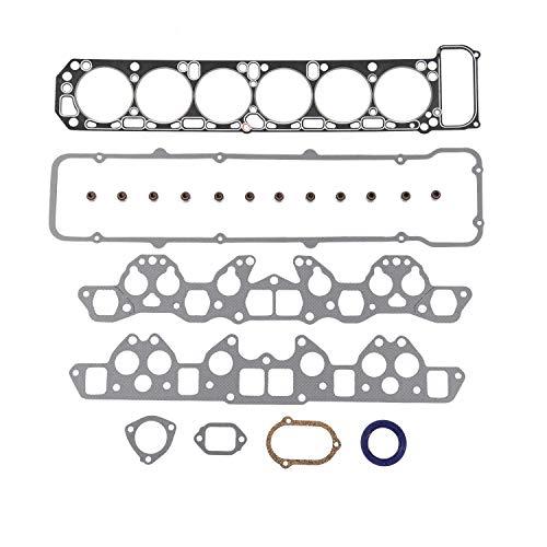 L26 2753cc // L24 DNJ HGS608 Graphite Head Gasket Set for 1970-1984 // Nissan // 240Z Maxima // 2.4L 2.6L 810 L24E 260Z 280ZX 2393cc 2.8L // SOHC // L6 // 12V V // 146cid 280Z 156cid L28E
