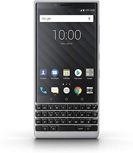 BlackBerry KEY2 Black Unlocked Android Smartphone 4G LTE US Version Silver 64GB