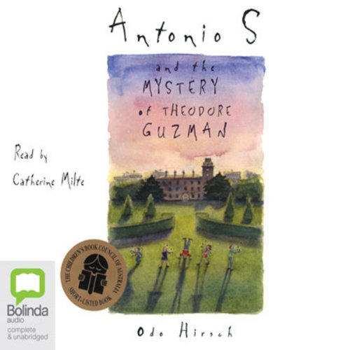 Antonio S and the Mystery of Theodore Guzman audiobook cover art