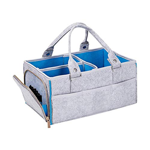 Opbergmand, handtas, luier, voor baby's, mand, opvouwbaar, reizen, draagbaar, luiertafel, trolley