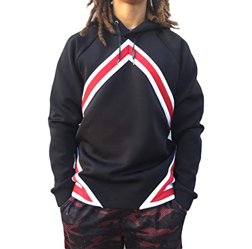 Jordan Nike Men's Flight Tech Diamond Pullover Hoodie
