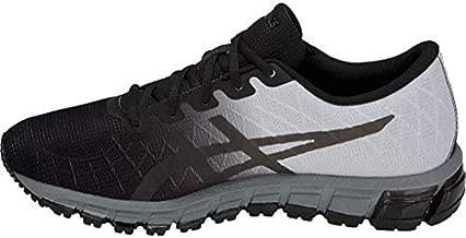 ASICS Men's Gel-Quantum 180 4 Running Shoes, 8.5M, Black/Dark Grey