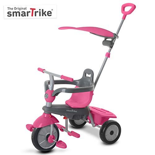 smarTrike Carnival tricycle bébé évolutif 3 en 1, Rose