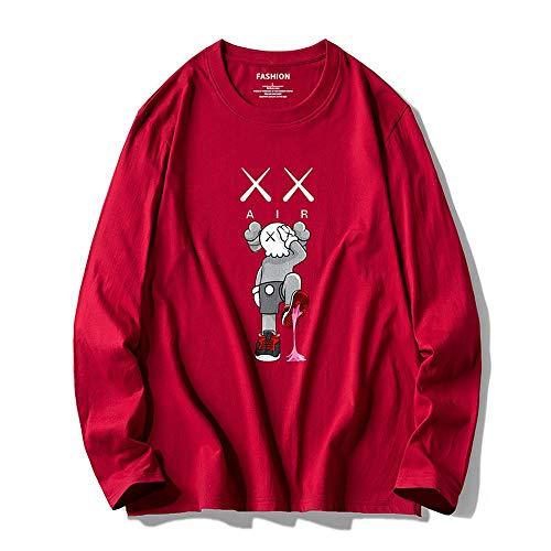 YX Sweatshirt trui Sesamstraat KAWS mannen en vrouwen trui casual los katoen coltrui paar 5-L