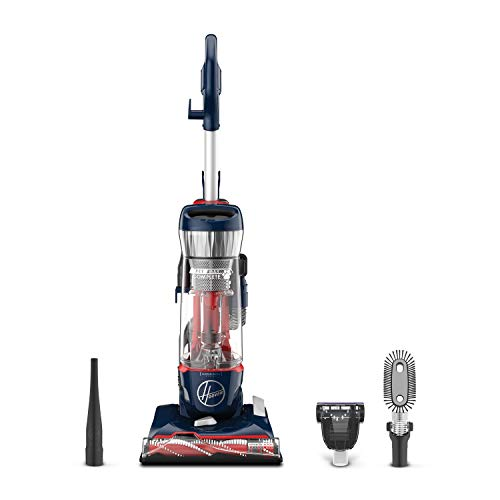 Hoover MAXLife Pet Max Complete Bagless Upright Vacuum Cleaner, UH74110, Blue Pearl