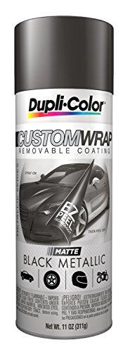 Duplicolor CWRC830 Custom Wrap Matte Black Metallic