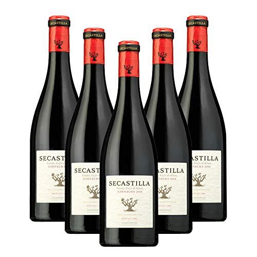 Vino tinto Secastilla de 75 cl - D.O. Somontano - Bodegas Gonzalez Byass (Pack de 5 botellas)