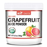 Organic Grapefruit Powder, 5.3oz(150g), 100% Pure, No Additives, No Gmo, Organic Certified