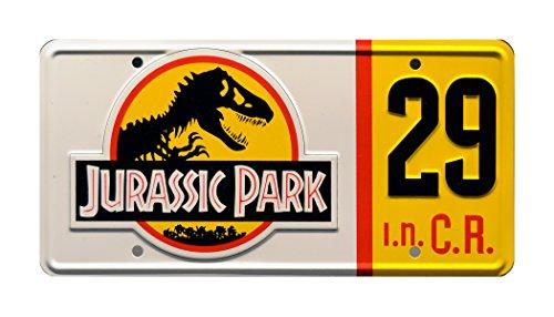 Celebrity Machines Jurassic Park | # 29 | Metal Stamped License Plate
