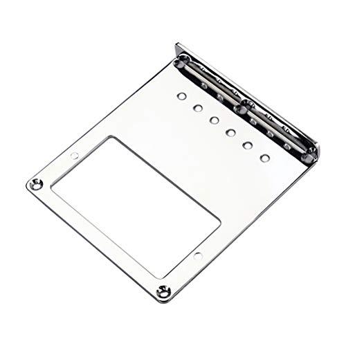 HEALLILY Batería de carga superior Puente de acero para Fender Telecaster TL...