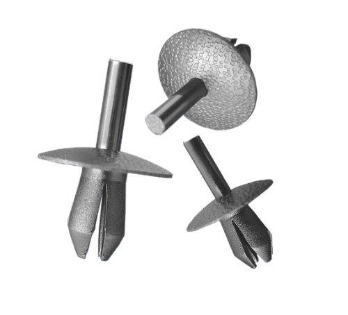 myshopx Rivets en plastique C81 - Pour protection anti-encastrement - Clips de fixation pour revêtement de portière - Clips de fixation pour pare-chocs