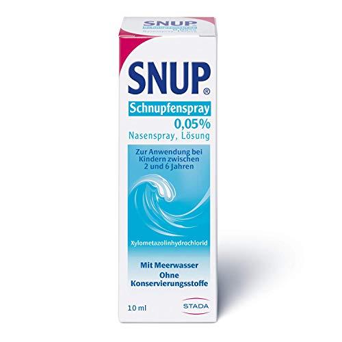 Snup Schnupfenspray 0,5% - Nasenspray mit Meerwasser für Kinder zwischen 2 und 6 Jahren, 10 milliliter (11 x 3 x 3 cm)