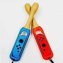 TwiHill Baquetas Taiko Master para Nintendo Switch, baquetas Taiko Master acessórios de jogos somatossensoriais, baquetas ...