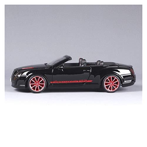 BECCYYLY Diecast Model Car 1:18 para Bentley para el Modelo de Auto Retro de la aleación de ISR para el Modelo Classic Car Diecast Vehicle Car Collection Regalo (Color: Negro) wmpa ( Color : Black )
