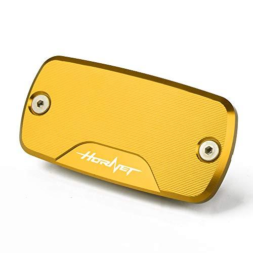 Motorrad Vorne Bremsflüssigkeitsbehälter Deckel Für Honda Hornet 900 2002-2006 Hornet 600 1998-2014 CB600F CB 600F 2009-2014(Gold)