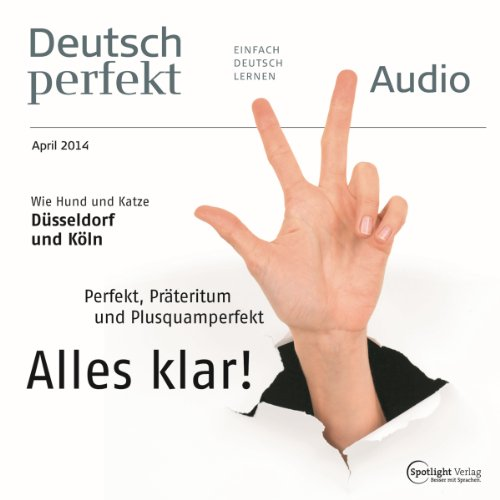 Deutsch perfekt Audio. 4/2014 Titelbild