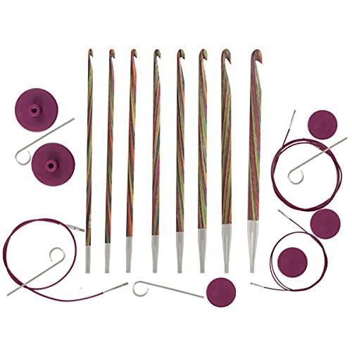 Tunisian Multi-Colored Symfonie Hooks